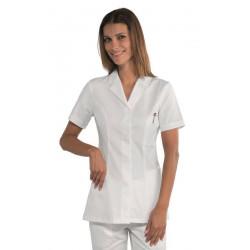 Tunique médicale femme manches courtes AURELIE