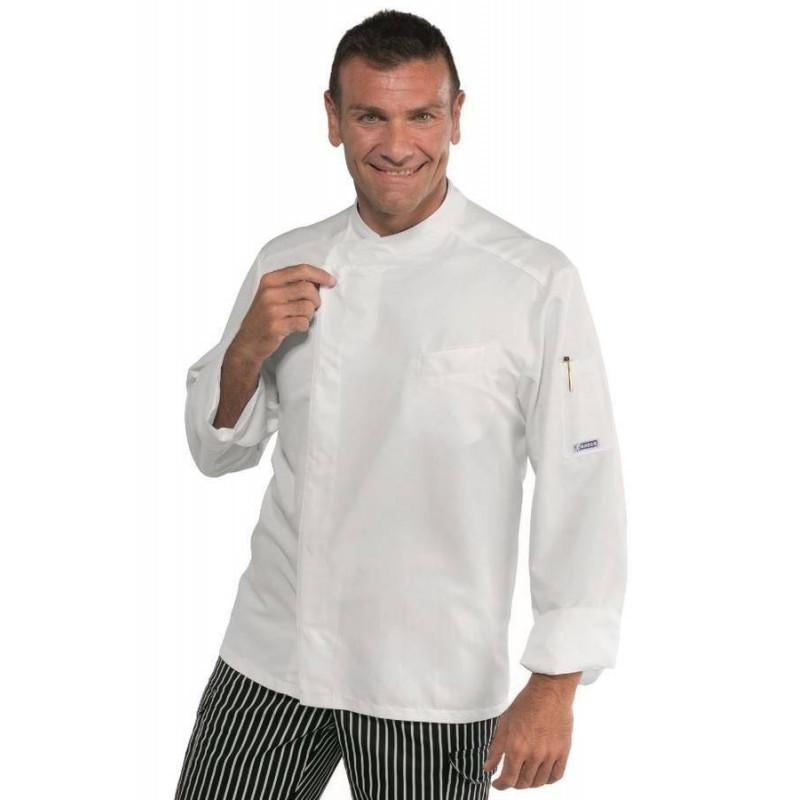 Veste de cuisine homme antitâches BILBAO