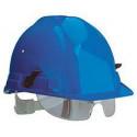 Lot 6 casques de chantier avec lunettes intégrées OCEANIC