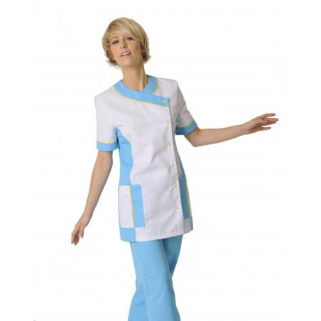 Tunique médicale femme manches courtes AMELIE