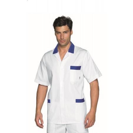 Tunique médicale homme manches courtes PETER
