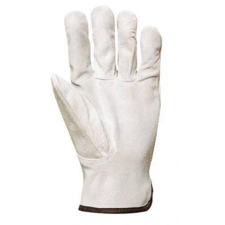 Lot 10 paires de gants maîtrise tout croûte vachette supérieure.  1098