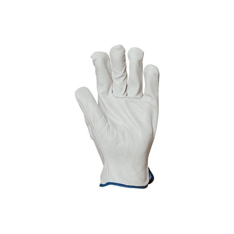 Lot 10 paires de gants maîtrise tout fleur agneau
