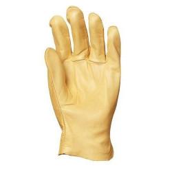 Lot 12 paires de gants tout fleur vachette supérieure hydro-oléofuge