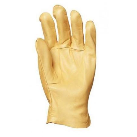 Lot 10 paires de gants tout fleur vachette supérieure hydro-oléofuge