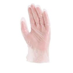 Lot 100 gants vinyle 5700 NON poudré usage court AQL 1.5