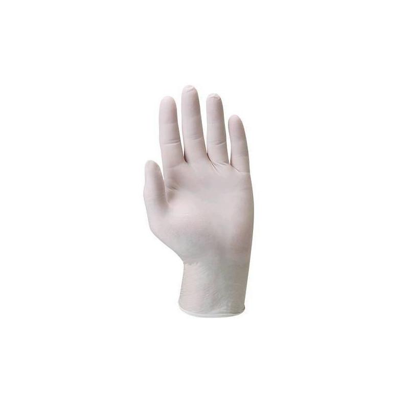 Lot 100 gants latex 5800 poudré usage court AQL 1.5