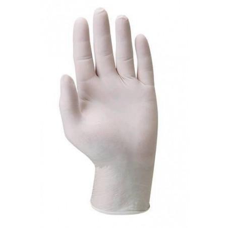 JUSTIN : Boîte de 100 gants latex poudré LIVRAISON 24/48H