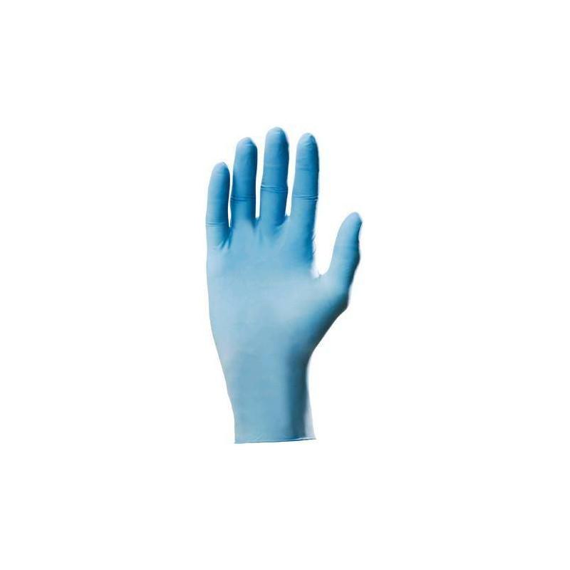Lot 100 gants nitrile bleu 5900 poudré usage court AQL 1.5