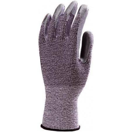 Lot 10 paires de gants EURO 4 paume enduit nitrile gris