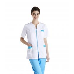 Tunique de travail médicale femme CORALIE