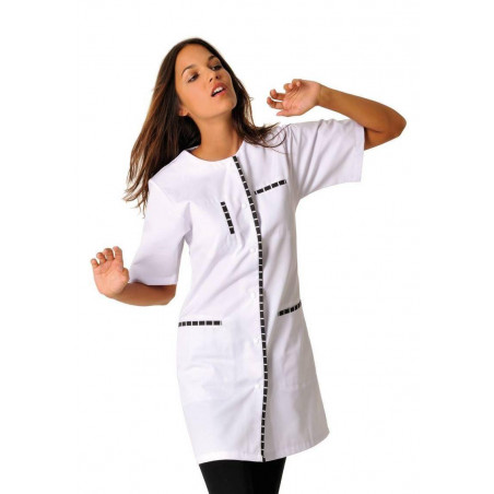 MAEVA Tunique médicale femme manches courtes