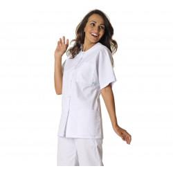 KELLY COTON Tunique médicale manches courtes