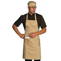 PETTORINA Tablier de service restauration,café polycoton 2 poches