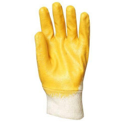 Lot 10 paires de gants nitrile dos aéré, économique