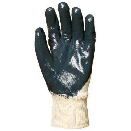 Lot 10 paires de gants nitrile bleu dos aéré, économique