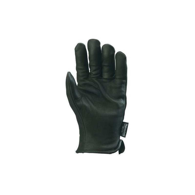 Lot 12 paires de gants KERGUELEN fleur vachette noir Thinsulate