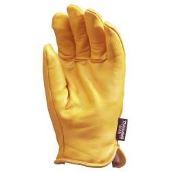 Lot 12 paires de gants ALASKA tout fleur vachette, doublé Thinsulate