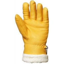 Lot 6 paires de gants ISLANDE tout fleur vachette, fourré long