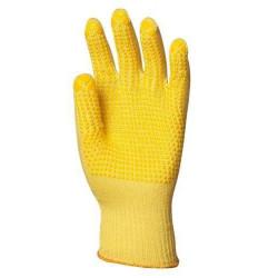 Lot 10 paires de gants Kevlar léger picots 1 face, 13 jauge, 32 g