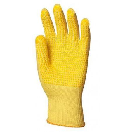 Lot 10 paires de gants Kevlar léger picots 1 face, 13 jauge, 32 g ou 35 g