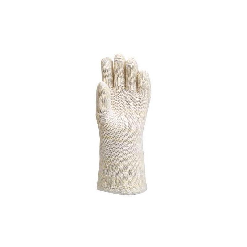 Lot 5 paires de gants Nomex doublé coton 35 cm thermique