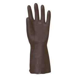Lot 10 paires de gants néoprène noir flocké 5300