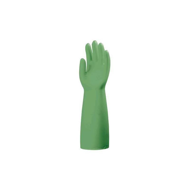 Lot 6 paires de gants Nitrile 5500 PLUS vert, ép. 0.56 mm, longueur 45 cm