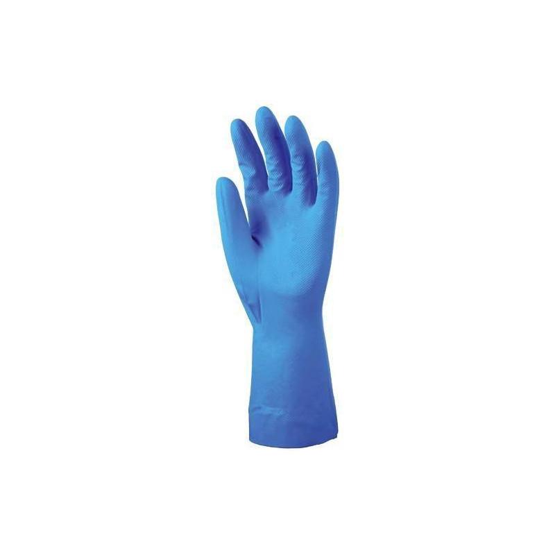 Lot 10 paires de gants Nitrile 5500 Bleu non flocké, 0.22 mm